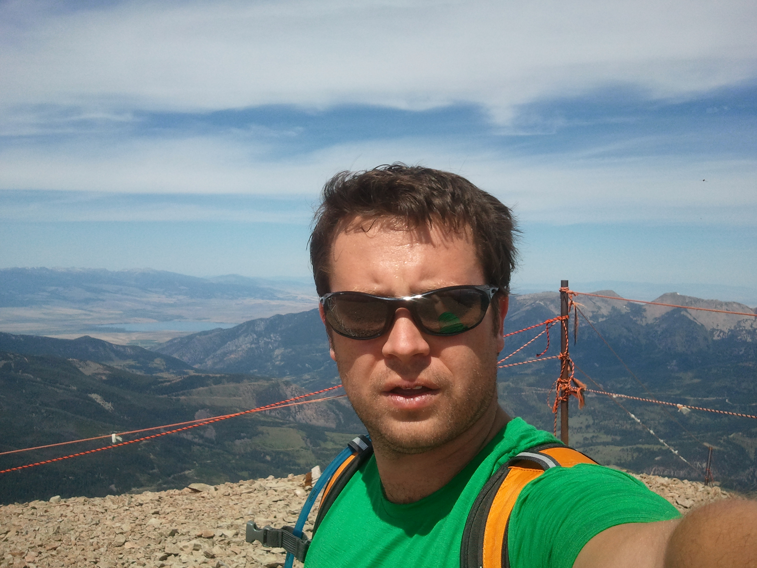Photo of Daniel T. Kaffine - Lone Peak, MT 11,166 ft