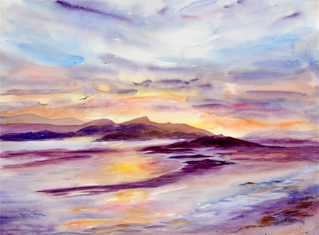 Annie Thayer Watercolors